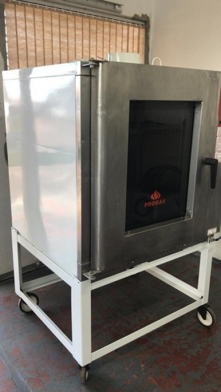 Forno Turbo Industrial Mato Grosso - Forno Turbo 5 Esteiras